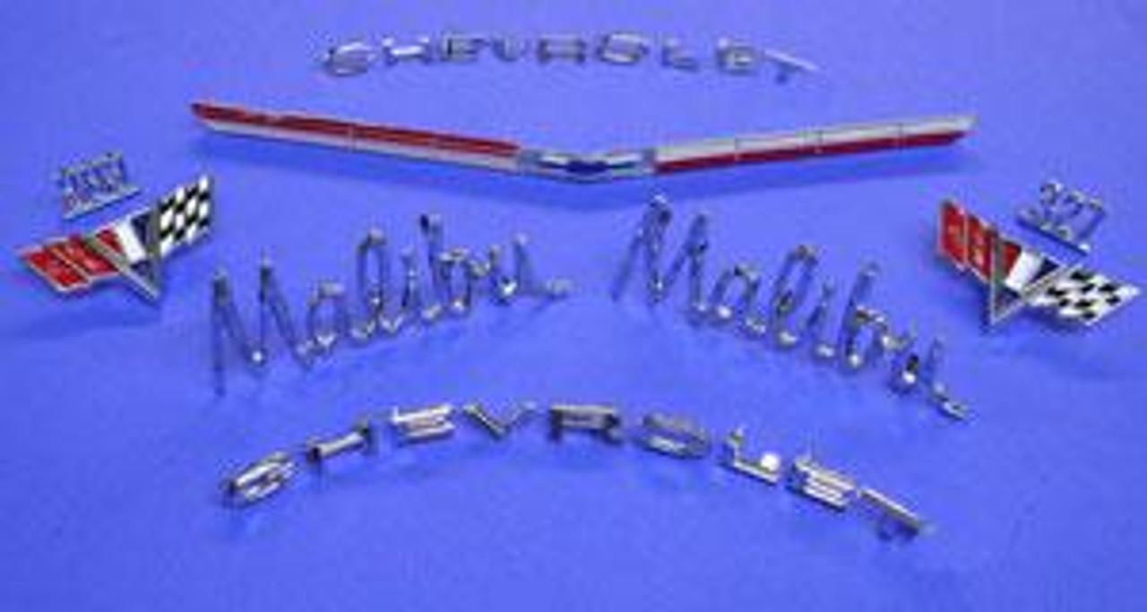 1965 Malibu Emblem Kit