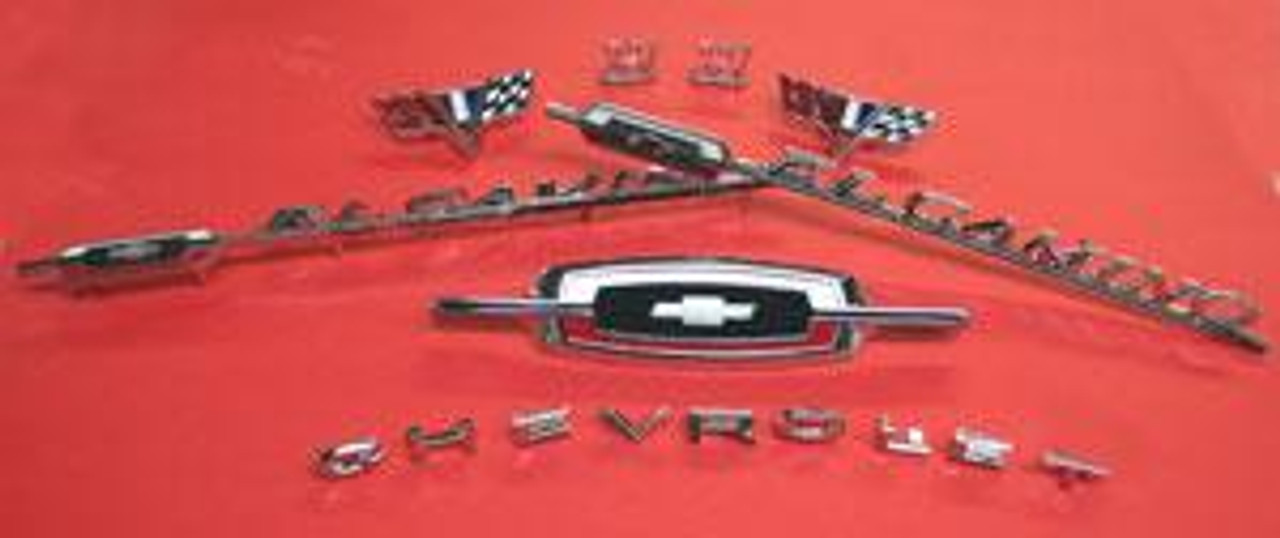 1966 El Camino 283 or 327 Emblem Kit