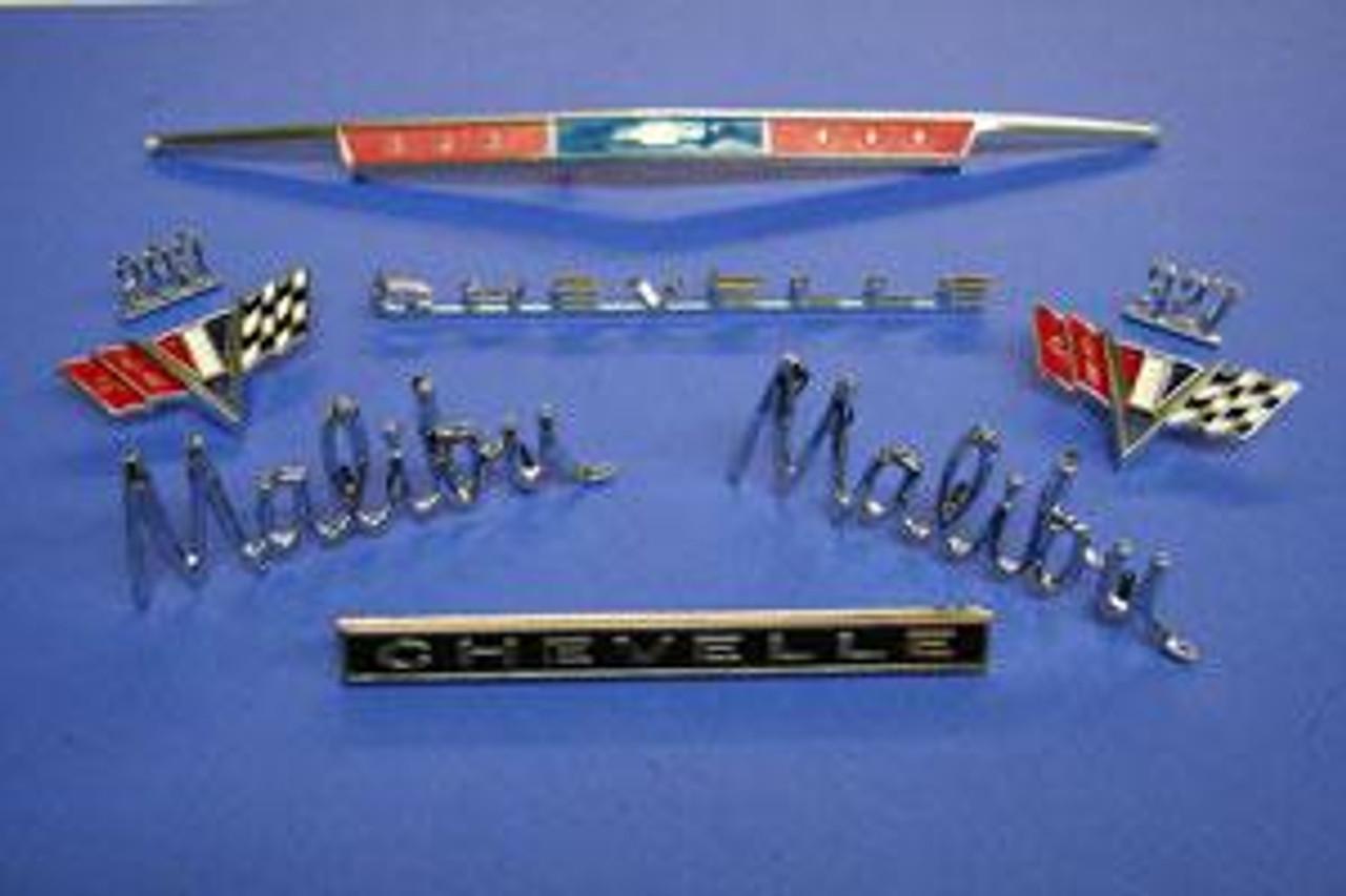 1967 Malibu Emblem Kit
