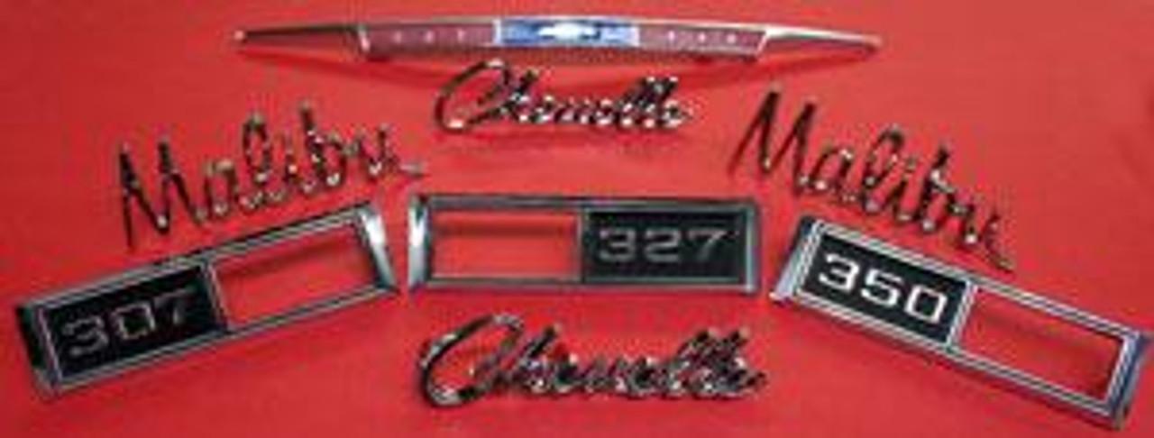 1968 Malibu Emblem Kit