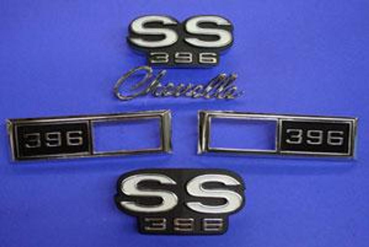 1968 Chevelle SS 396 Emblem Kit