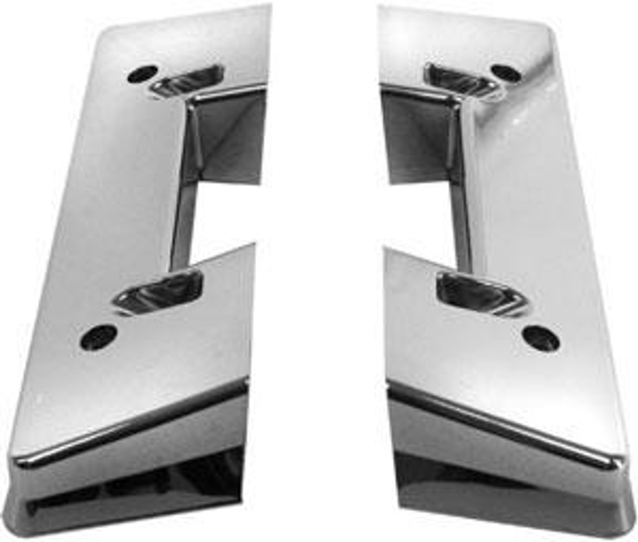 1964-67 Chevelle Or El Camino Front Arm Rest Bases (Pair)