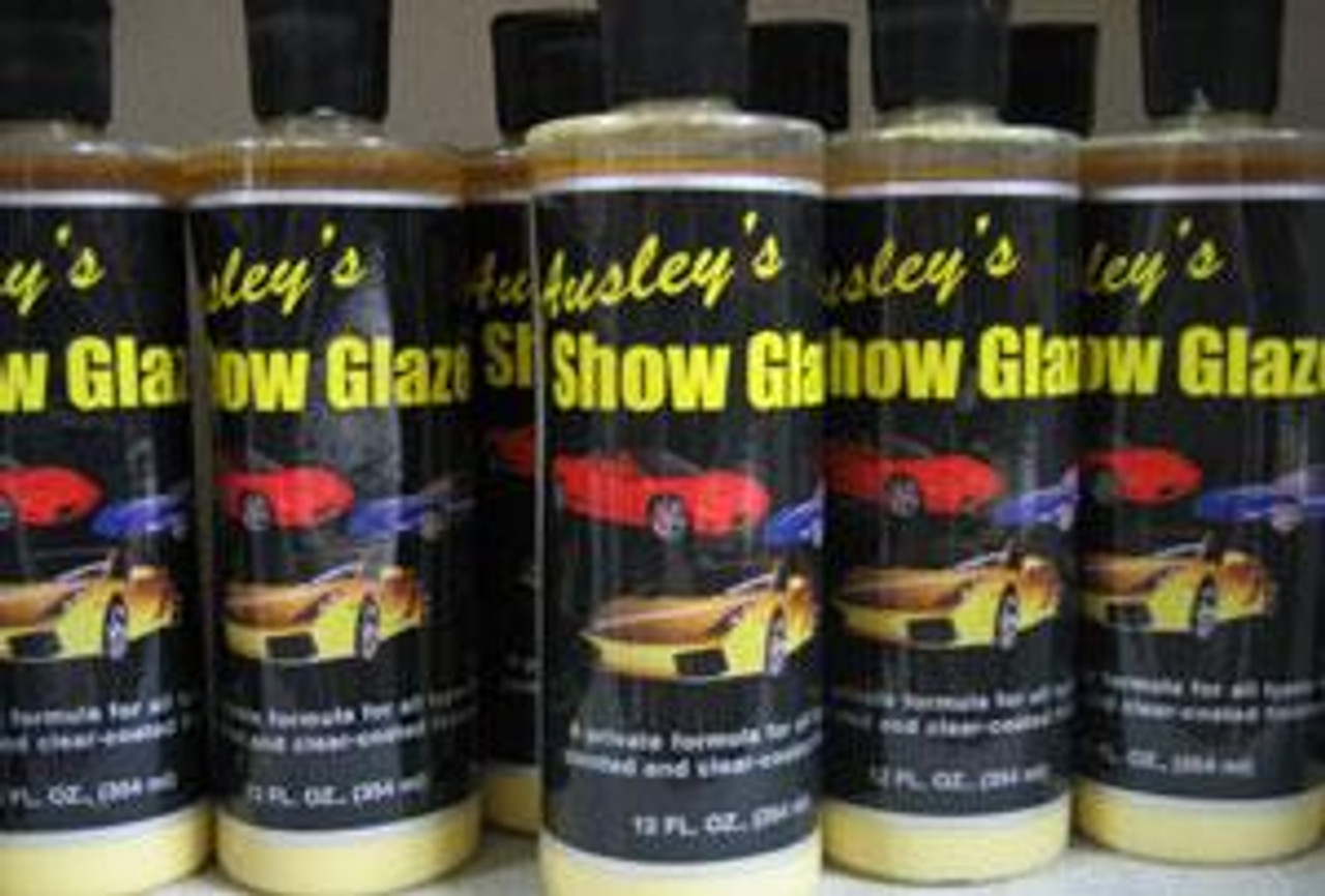 Show Car Glaze wax (12 oz bottle)