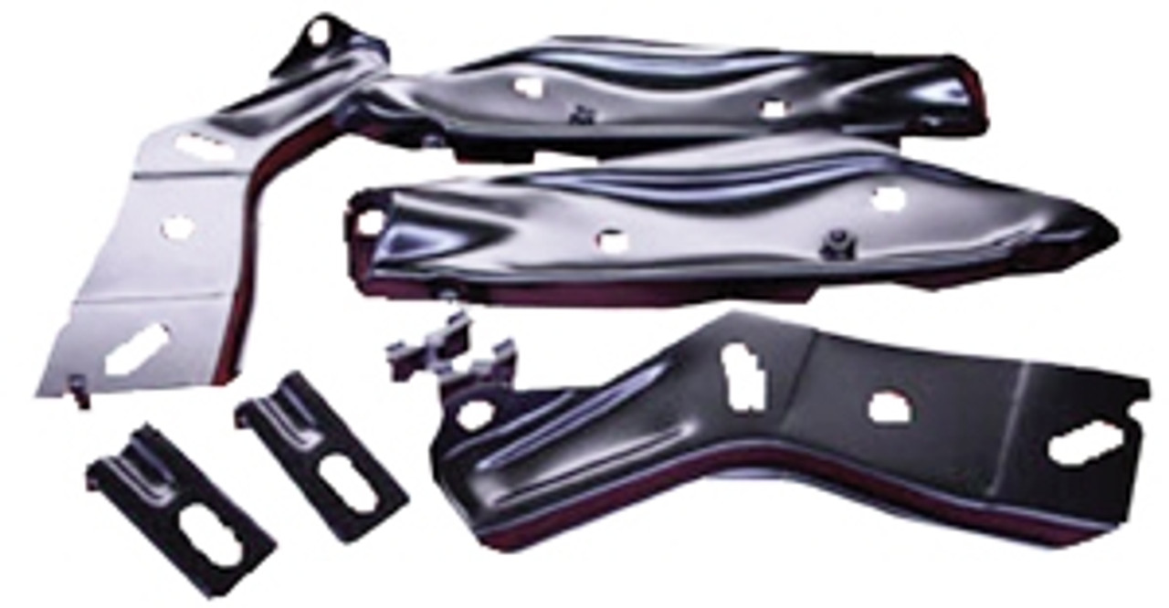1966 Rear Bumper Brackets