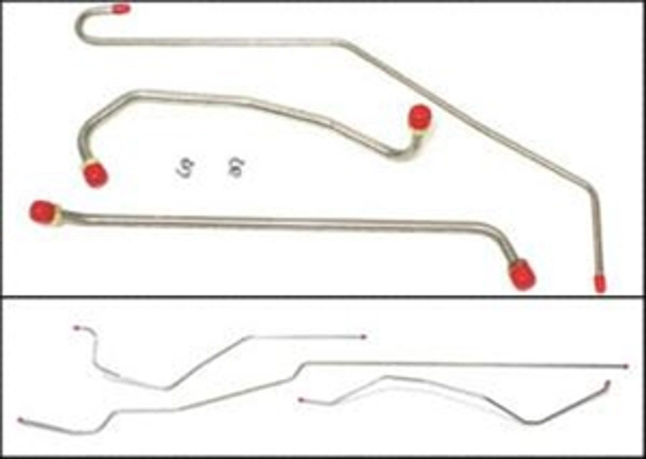 1964-72 Disc Brake Conversion Only Brake Line Set