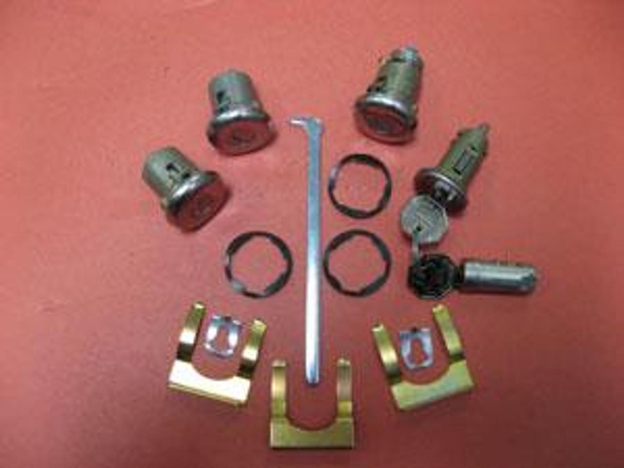 1967 Complete Lock Set