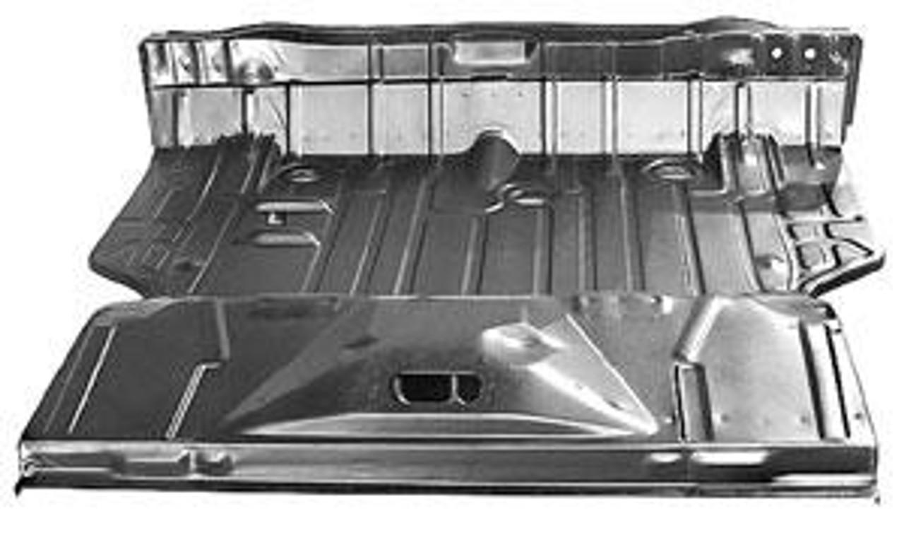 1969 Complete Trunk Floor Pan