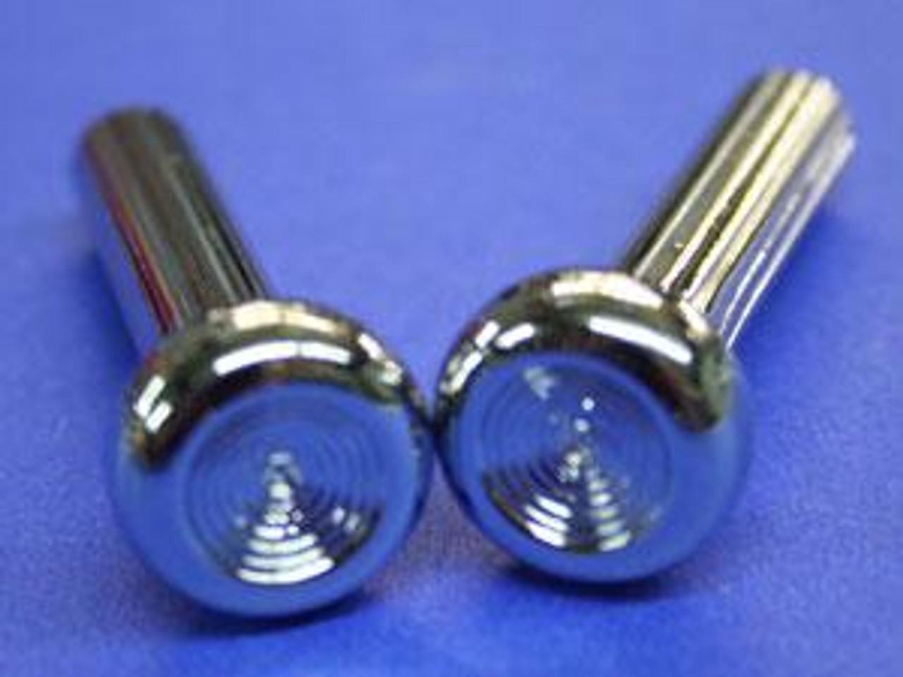 1968-72 Chevelle or EL Camino Door Lock Knobs pair (Chrome)