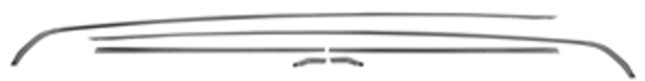 1970-72 Chevelle Drip Rail Moldings (Set)