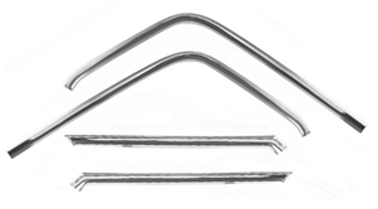 1964-67 El Camino Door Frame Moldings