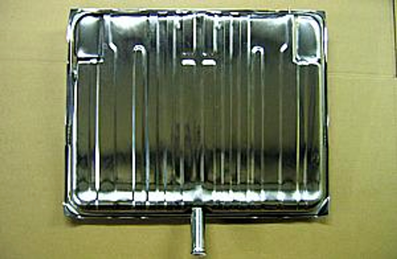 1964-67 Gas Tank (Fuel) (Stainless Steel)