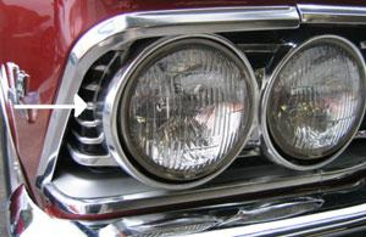 1966 Grille Extensions (Pair)