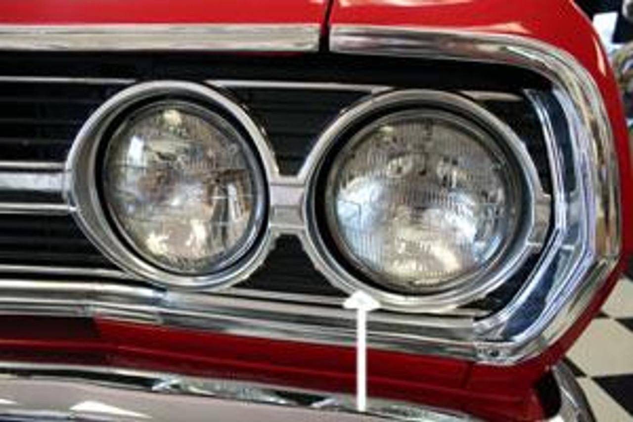 NEW 1971 Chevy Chevelle Head Light Bezel Lamp Door Pair Headlight Chevrolet