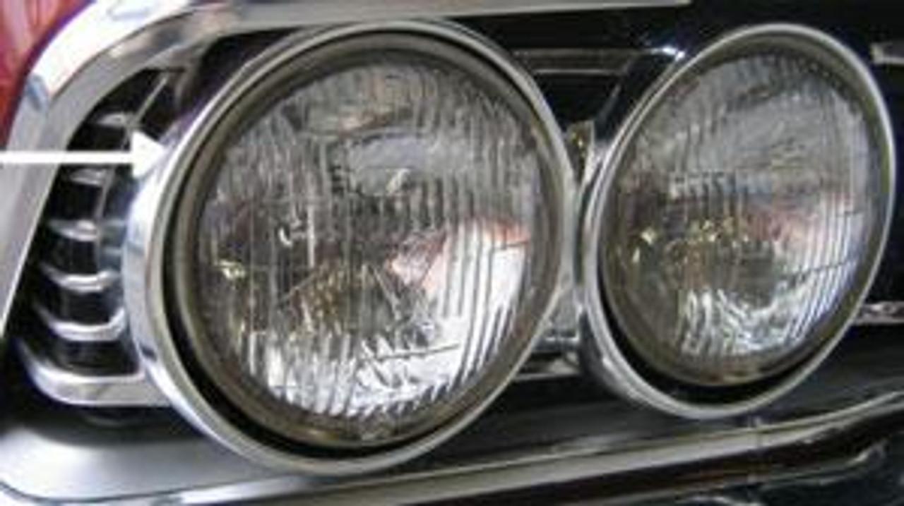1966 Headlight Bezels (Pair)