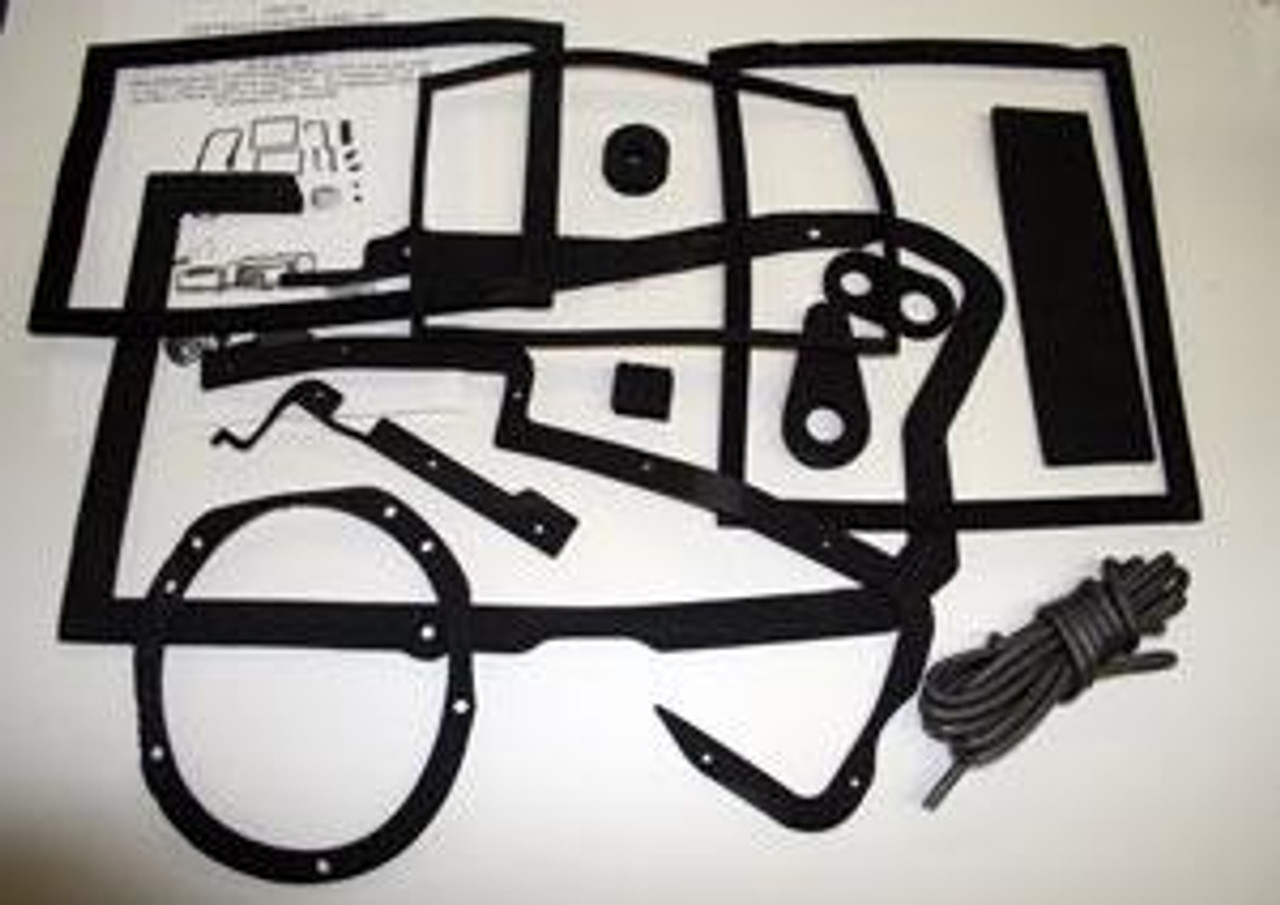 1964-67 Heater-A/C Box Seal Kit with A/C