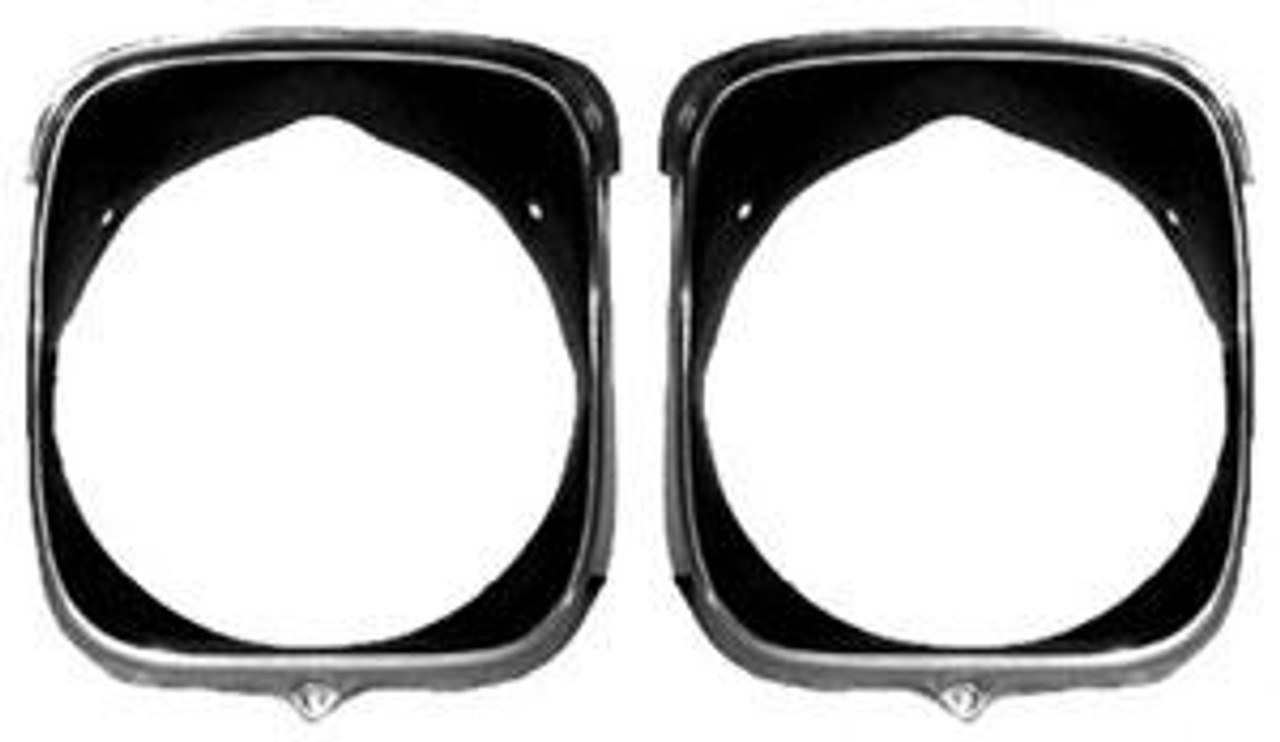 1969 Headlight Bezels (Set of 4)
