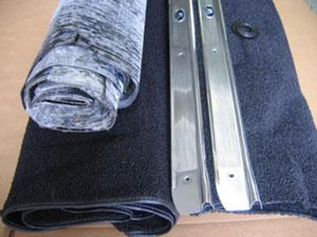 1964-67 Chevelle, El Camino Molded Carpet, Deadener & Sill Plate Kit