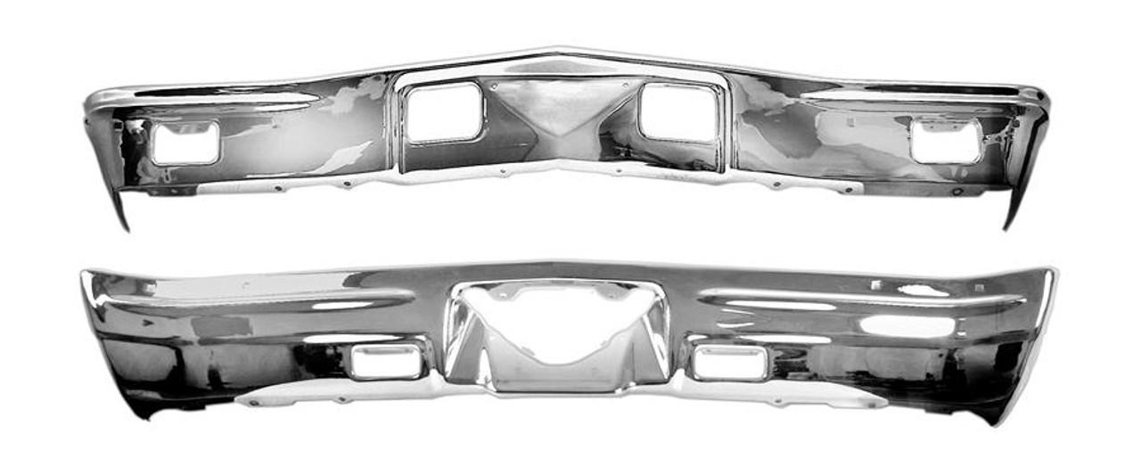 1968 Chevelle Front & Rear Bumper Kit