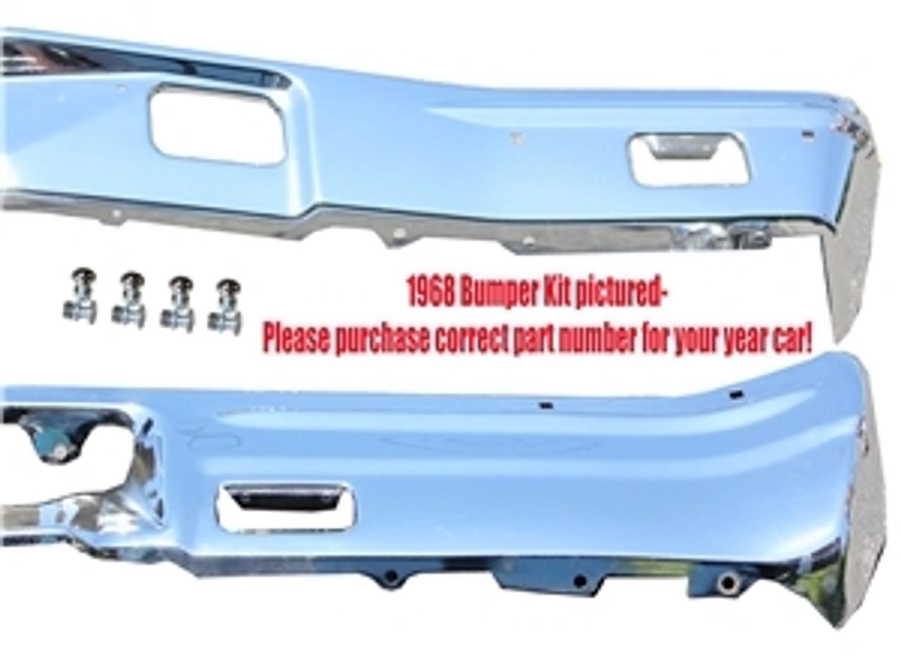 1969 El Camino Front & Rear Bumper Kit
