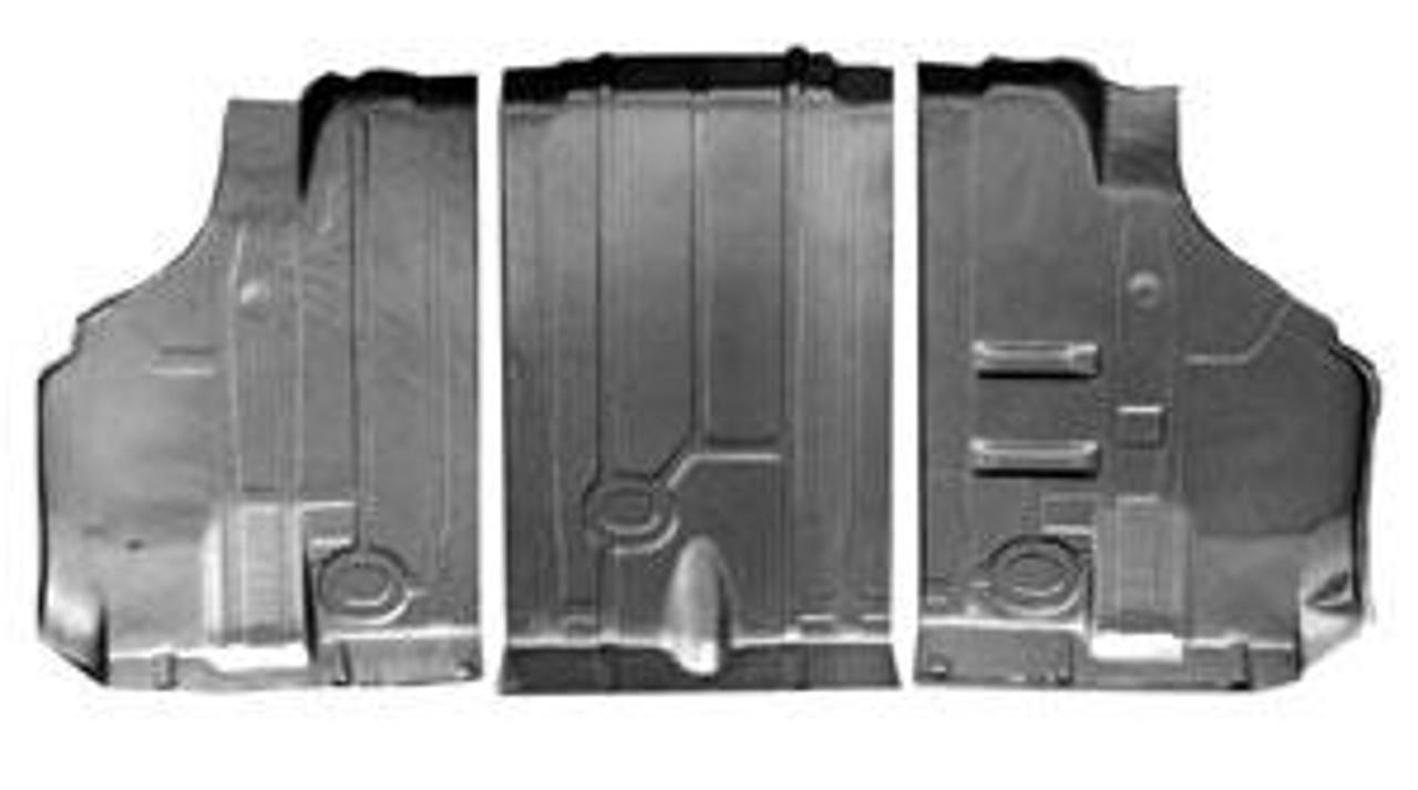 1968-72 Trunk Floor Pan Kit (3 Pieces)