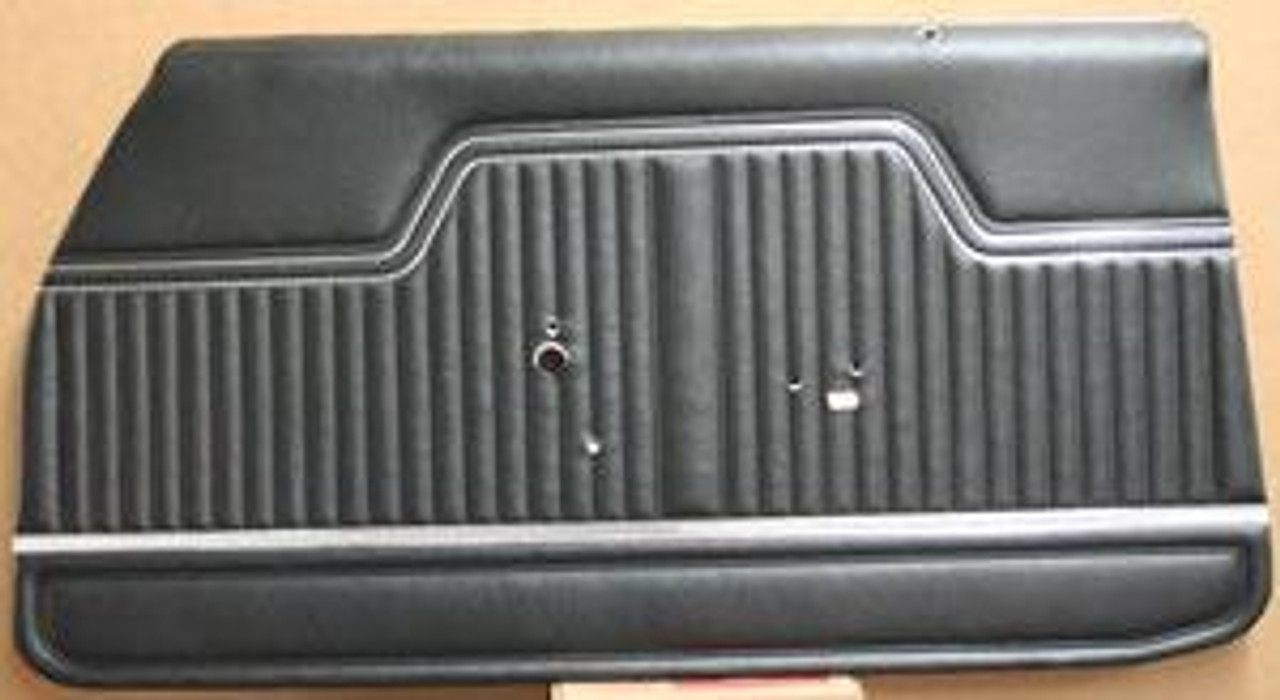 1970-72 Pre-Assembled Chevelle Door Panels, Front & Rear (Set)