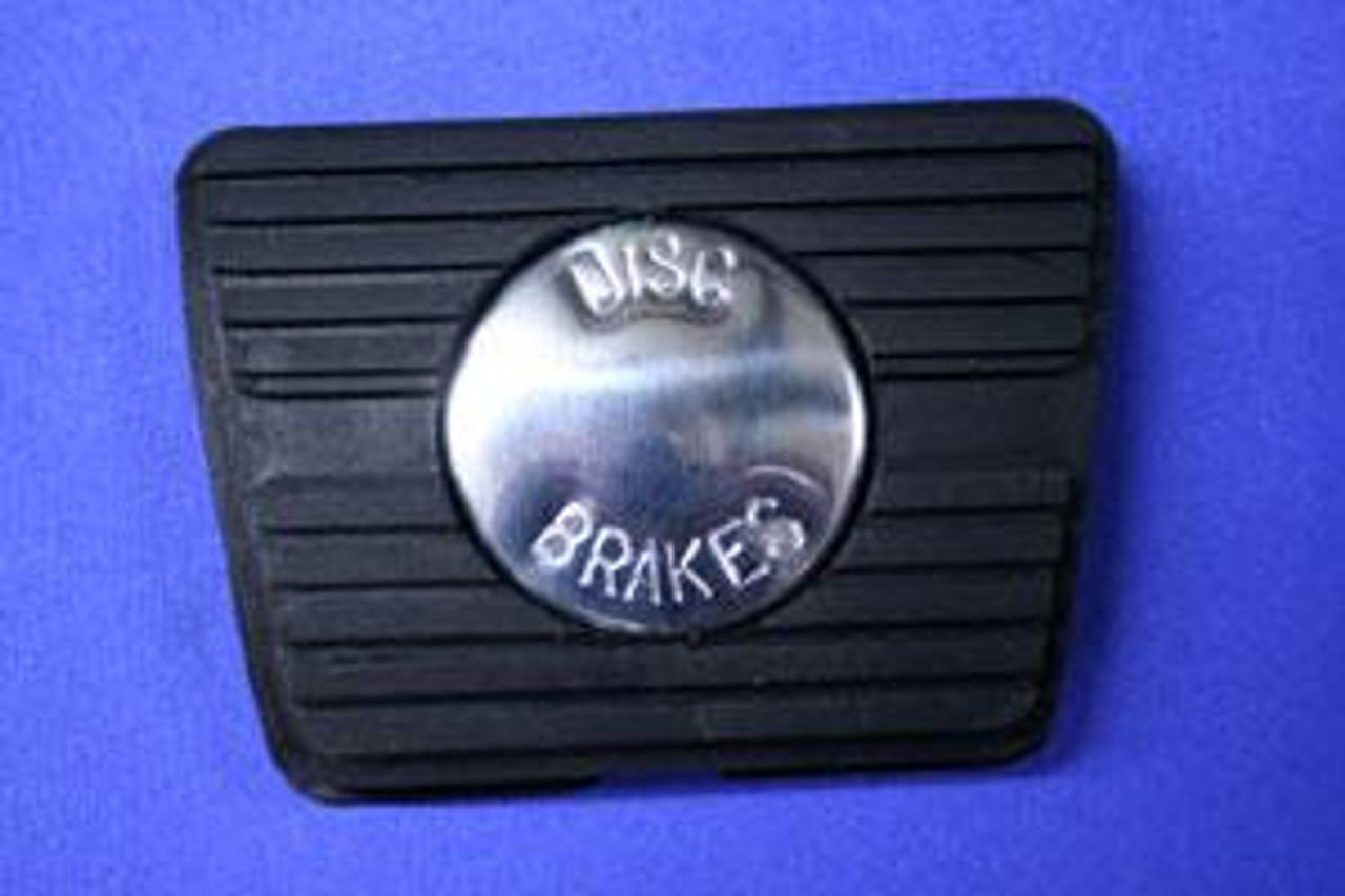 1964-72 Chevelle, El Camino Rubber Manual Disc Brake Pedal Pad Cover