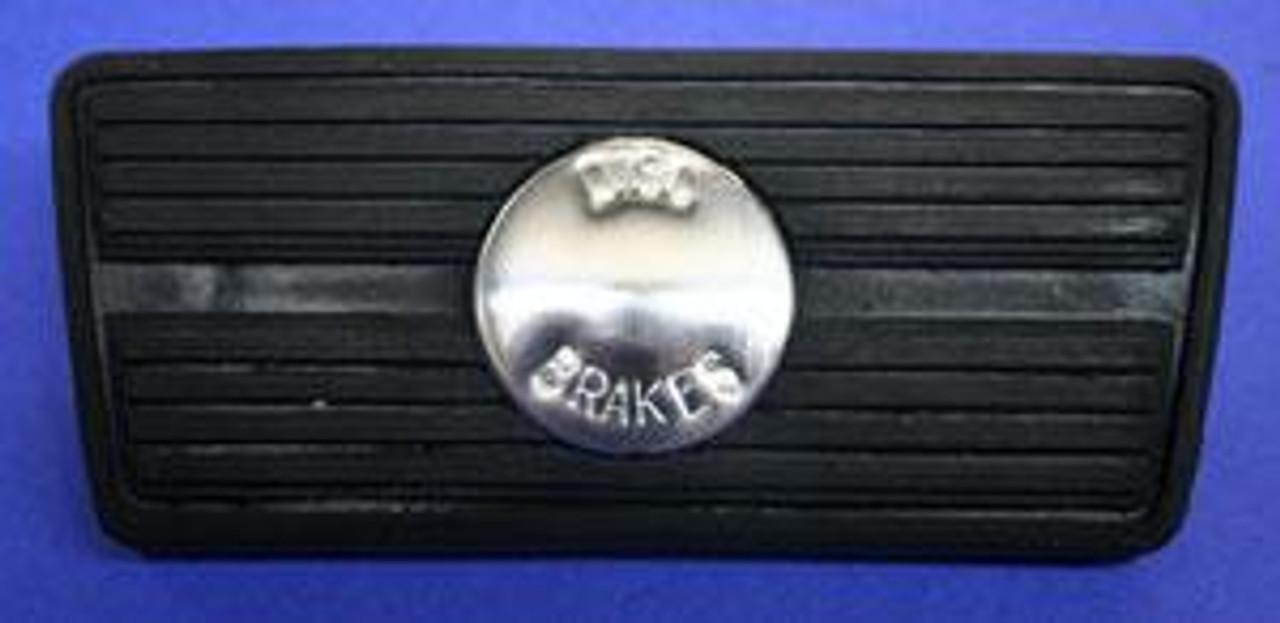 1964-72 Chevelle, El Camino Rubber Automatic Disc Brake Pedal Pad Cover