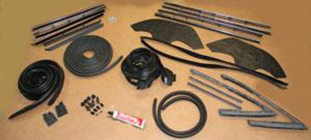 1964-68 Premier Weatherstrip Kit (Rubber Package)