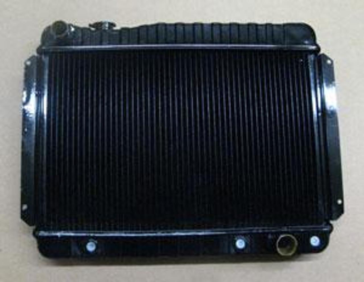 1966-67 Chevelle Copper/Brass 4-Core Radiator (Automatic)