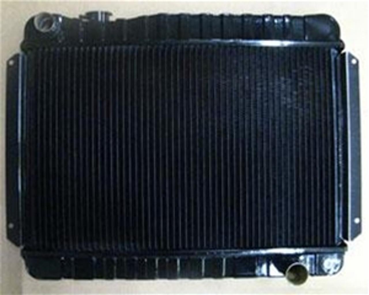 1966-67 Chevelle 4 core Copper/Brass Radiator (Manual)