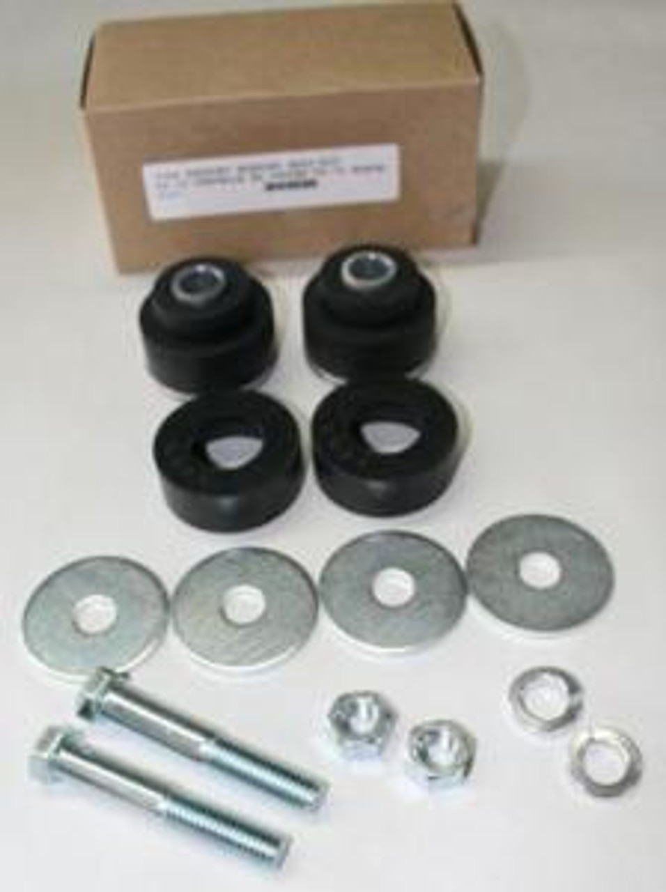 1968-72 Chevelle or El Camino Radiator Support Bushings and Bolts (Set)