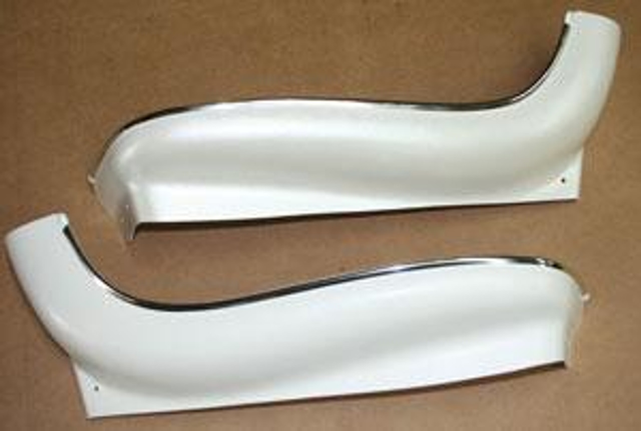 1968-72 Chevelle or El Camino Bucket Seat Bottoms, with Chrome , 1 Seat