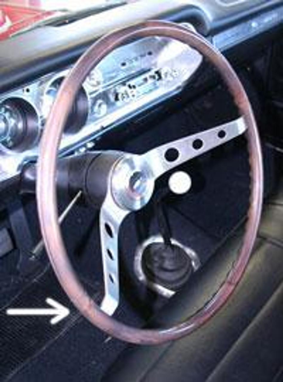 1964-66 2-Spoke Wood Steering Wheel (wheel only)