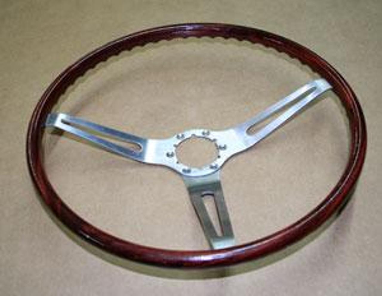 1969 Rosewood Steering Wheel (wheel only)
