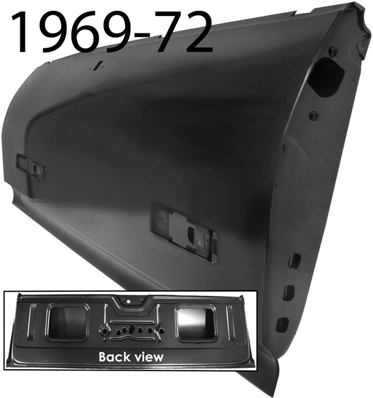 1968-72 El Camino Tailgate Panel (ea)