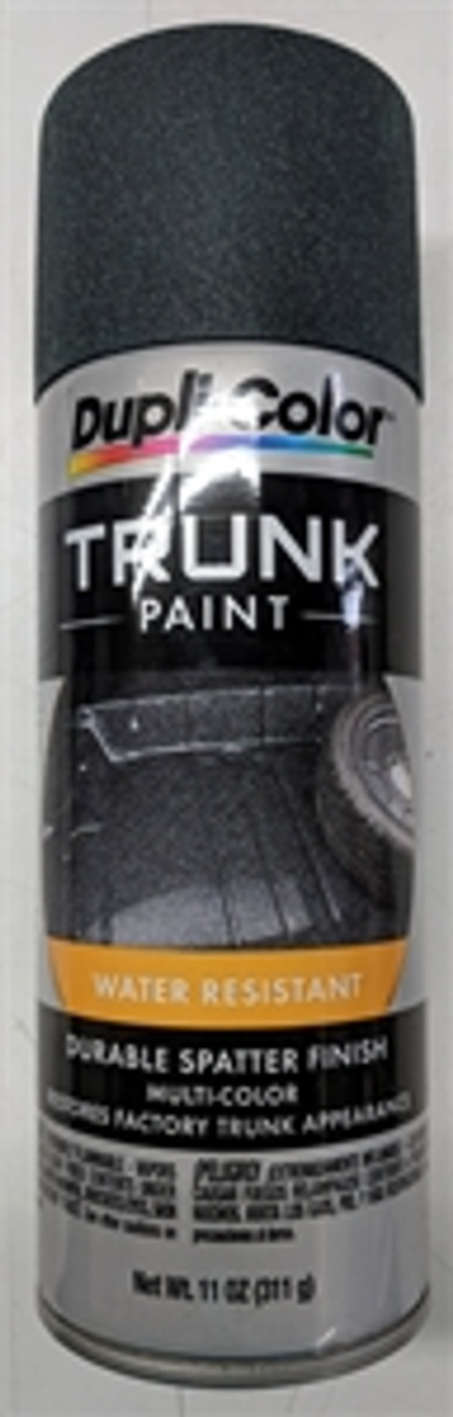 1967-72 Trunk Spatter Paint (Black/Aqua)