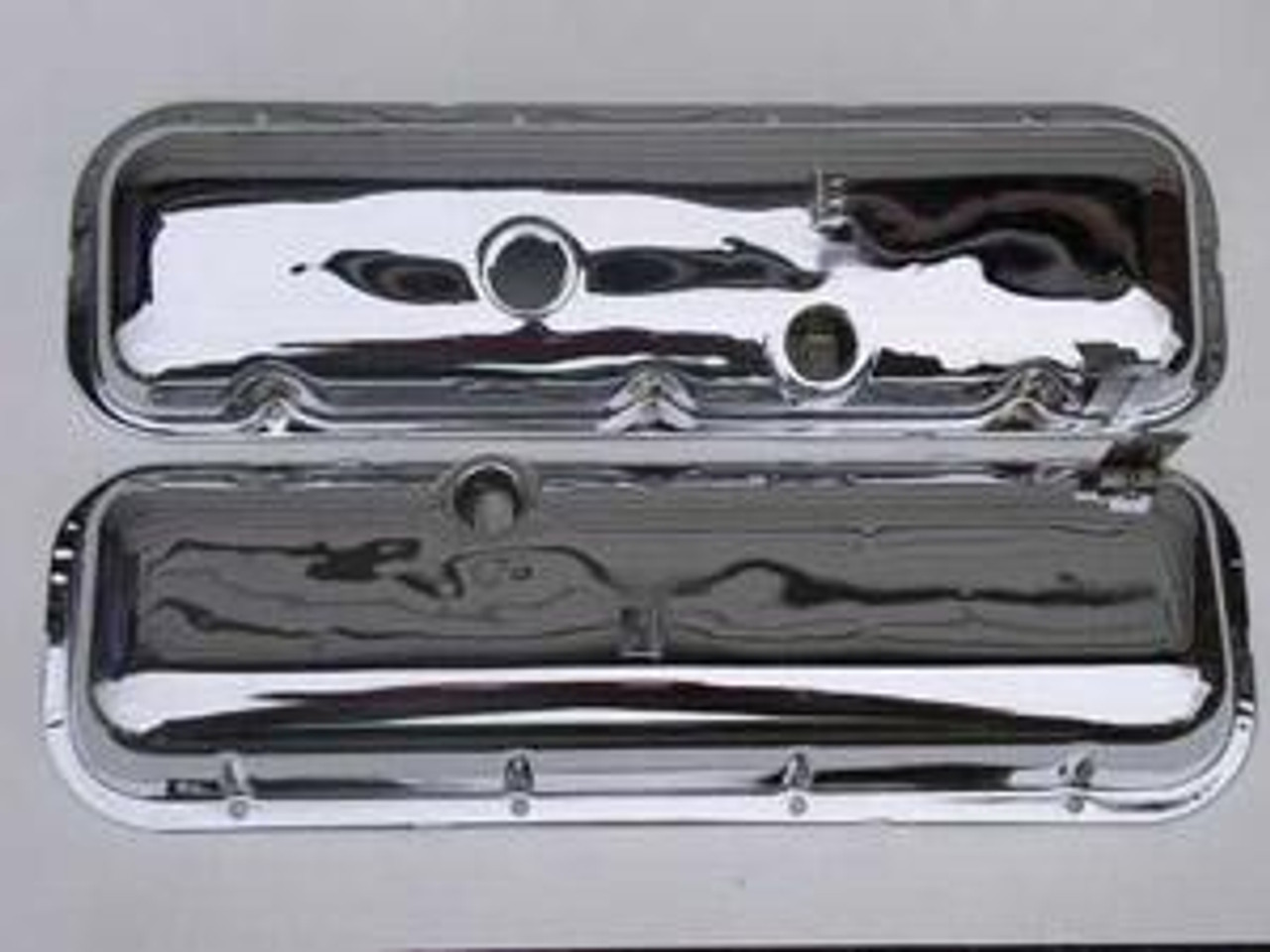 1965-68 Valve Covers with Drippers (Pair)