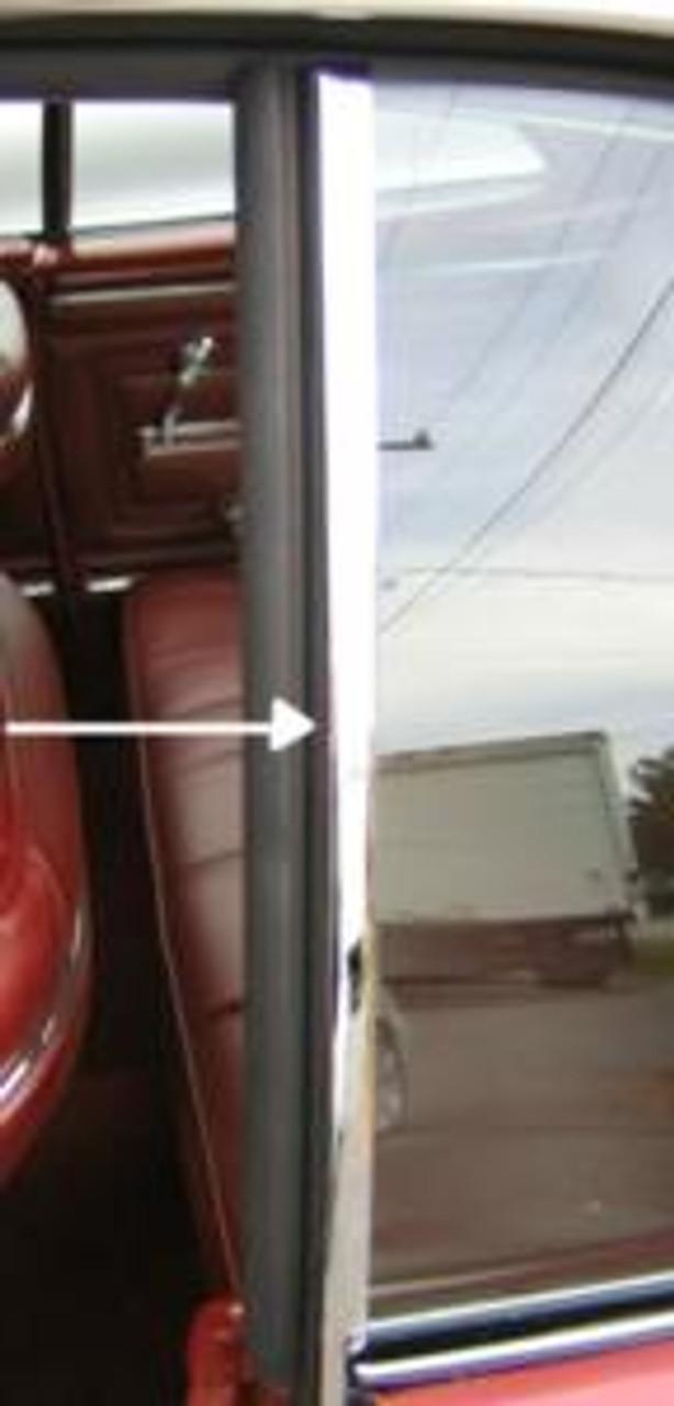1968-72 Quarter Window Vertical Chrome (Pair)