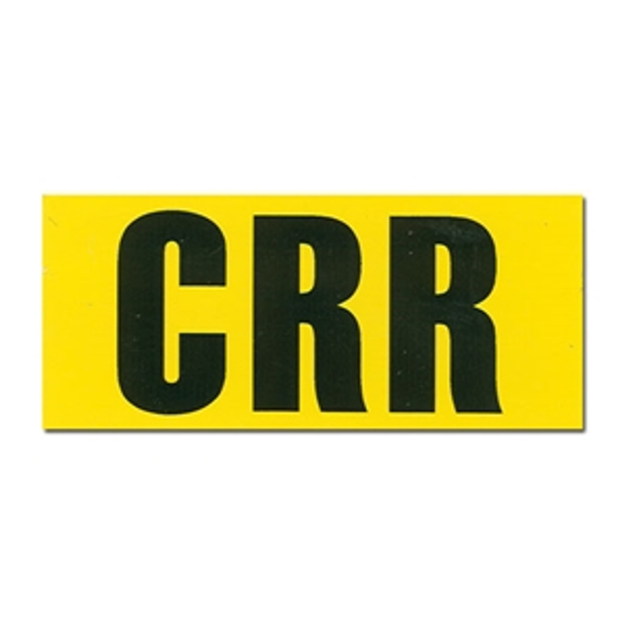 Chevelle or El Camino CRR Decal