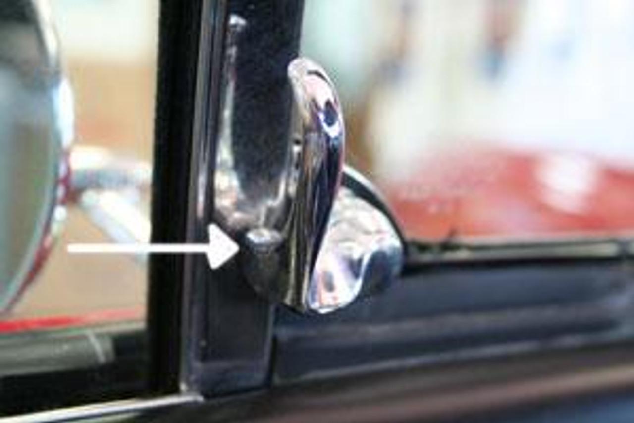 1964-67 Vent Window Handles, El Camino (Pair)