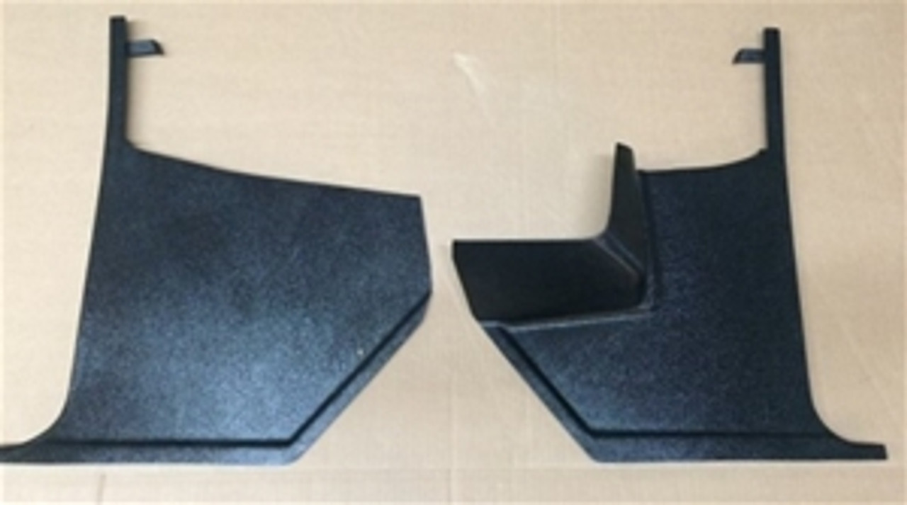 1965-66 Chevelle, El Camino Kick Panels with Air (Pair)