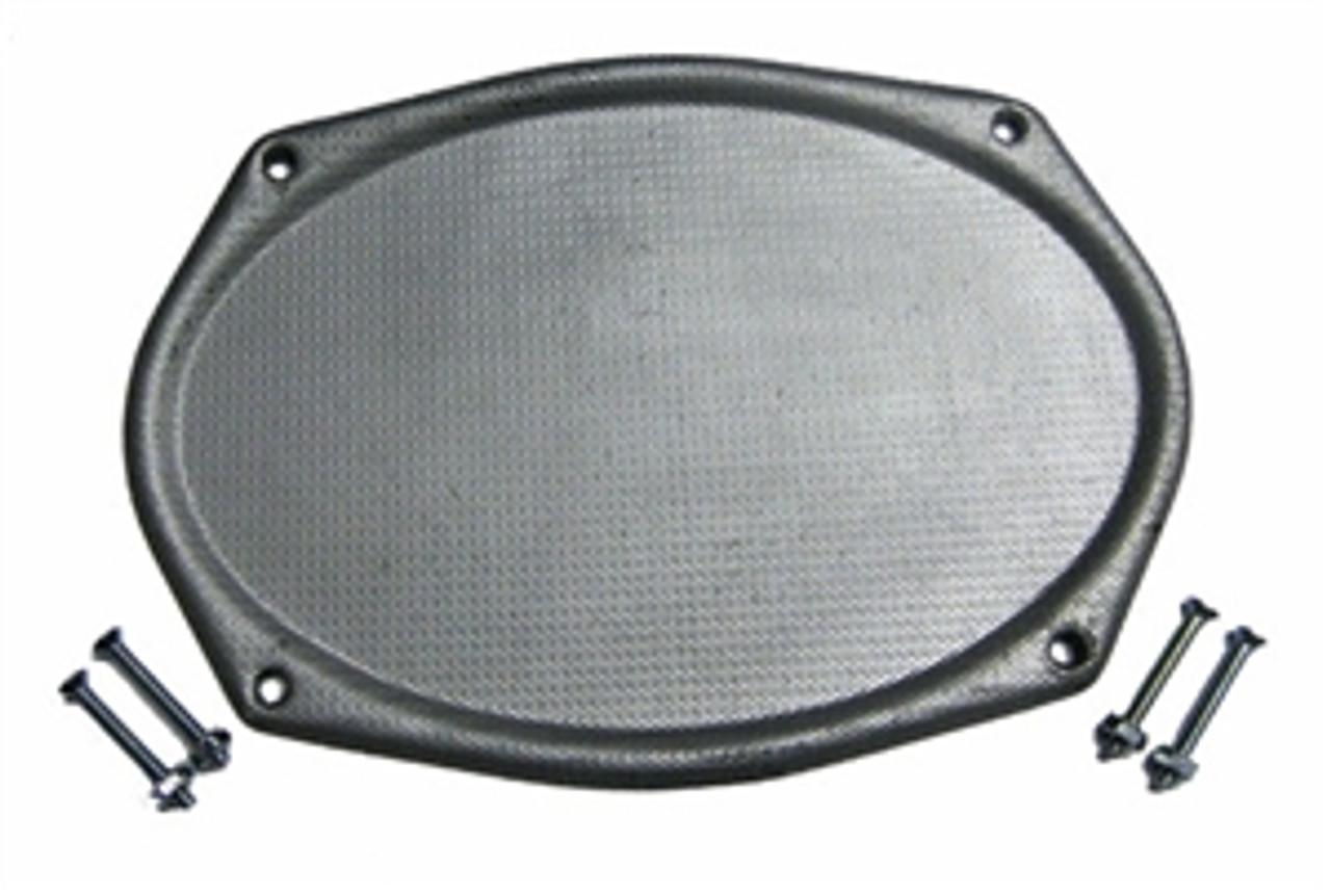 1964-66 Rear Deck Speaker Grille 6x9 (ea)