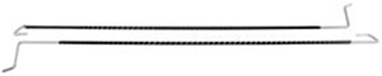 1968-72 Chevelle Trunk Lid Torsion Rods Convertible. (pair)