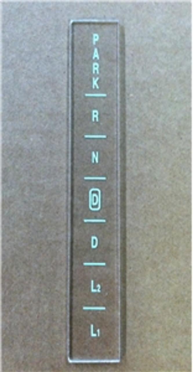 1966 1967 Overdrive Shifter Lens