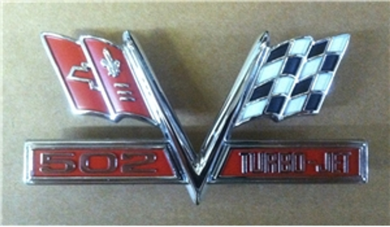 1965-67 502 Turbo Jet Flags