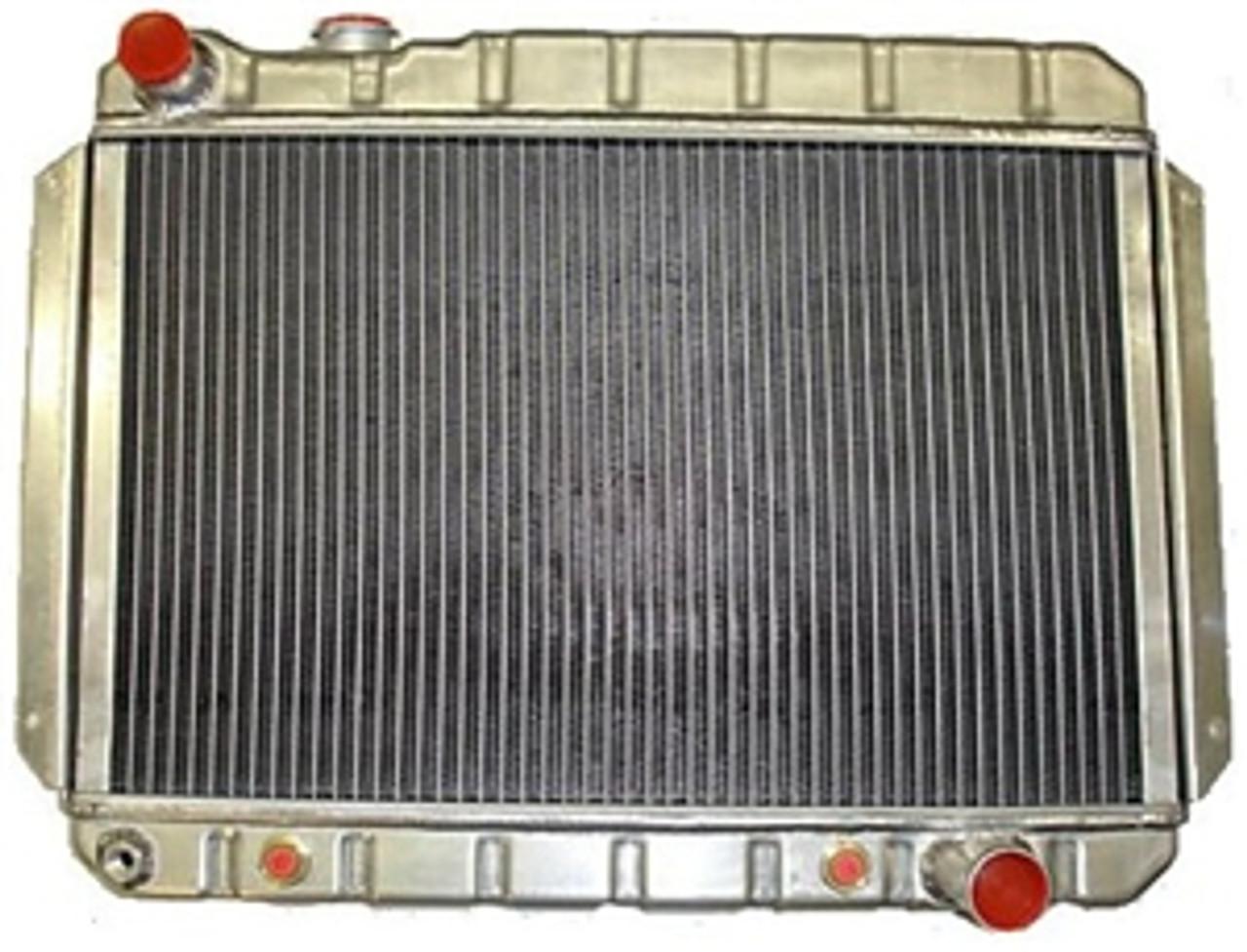 1966-67 Heavy Duty Aluminum Radiator (Auto or Man)