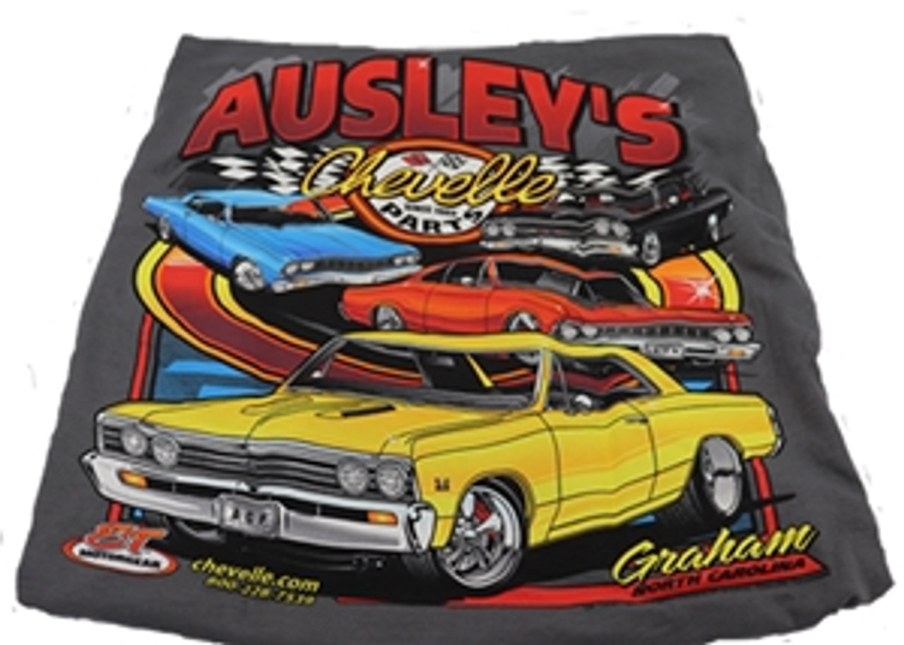 Ausley Mulit Car Shirt, 1964-67