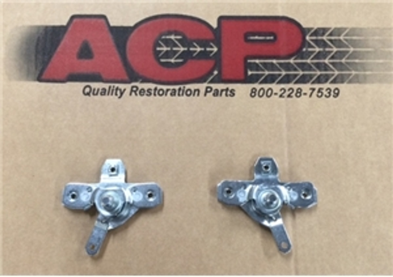 1966-67 Chevelle Or El Camino Inside Door Handle Release Assembly (pair)
