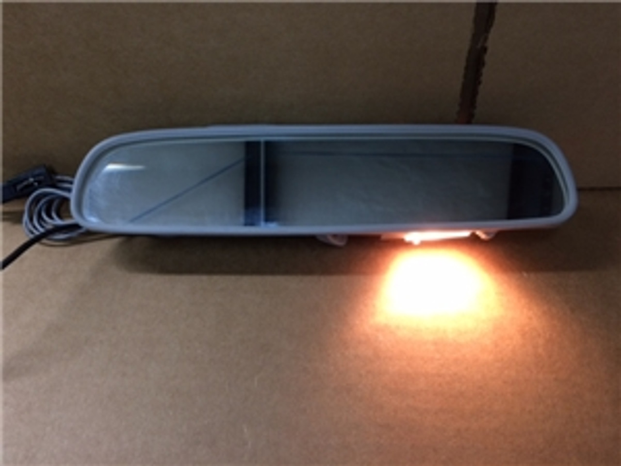 """1964-67 Chevelle or El Camino Inside Rear View Mirror with Map Light (8"""")"""