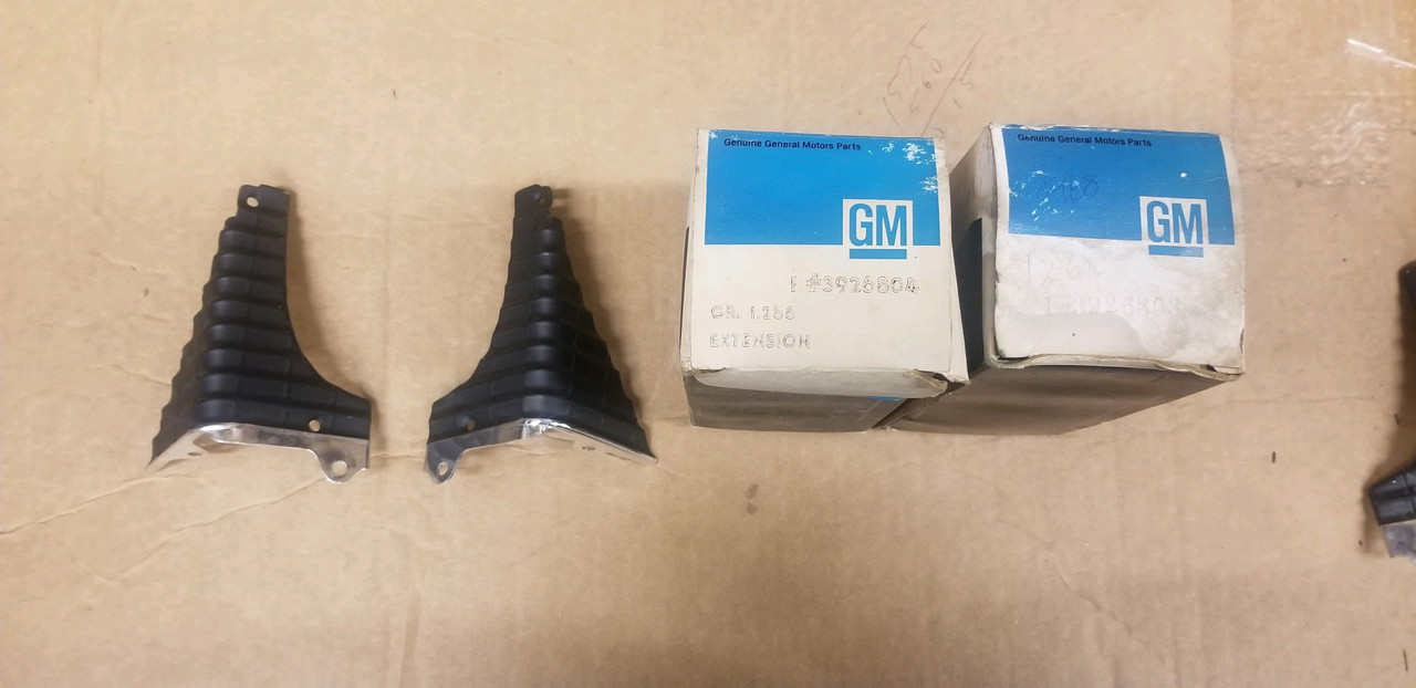 1968 Chevelle/El Camino SS NOS grille extensions